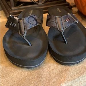 Coach Shoes - Coach Sandal.   Size 7 Euro 37.5 Black